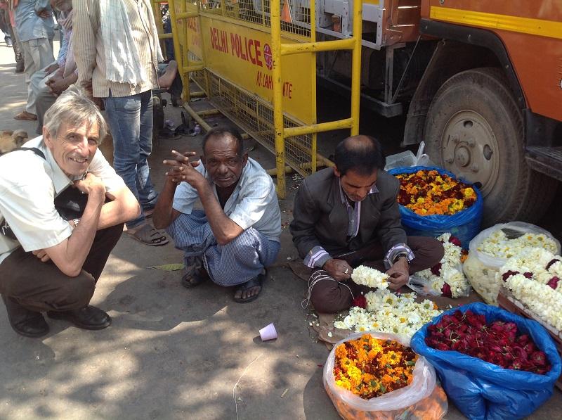 Vor dem Gewürzmarkt